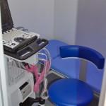 передвижной лечебно-диагностический комплекс Спортивная медицина в фургоне Купава на выставке Здравоохранение 2013 кабинет