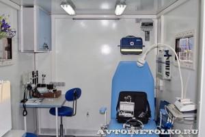 Мобильный Офис Врача Общей Практики ООО ДжиСиМед на выставке Здравоохранение 2013 кабинет