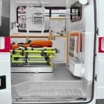 Автомобиль скорой медицинской помощи класс А Соболь 4х4 Промышленные Технологии на выставке Здравоохранение 2013 боковая дверь