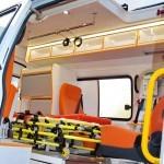 Автомобиль скорой медицинской помощи класс B Газель Бизнес Промышленные Технологии на выставке Здравоохранение 2013 салон слева