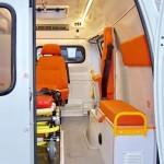 Автомобиль скорой медицинской помощи класс B Газель Бизнес Промышленные Технологии на выставке Здравоохранение 2013 салон справа