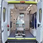 Неонатальный автомобиль скорой медицинской помощи класс C Citroen Jumper Промышленные Технологии на выставке Здравоохранение 2013 салон