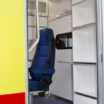 Модульный реанимобиль Ford Transit Промышленные Технологии на выставке Здравоохранение 2013 перегородка