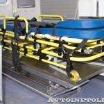Модульный реанимобиль Ford Transit Промышленные Технологии на выставке Здравоохранение 2013 носилки