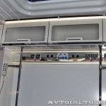 Модульный реанимобиль Ford Transit Промышленные Технологии на выставке Здравоохранение 2013 розетки