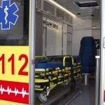 Модульный реанимобиль Ford Transit Промышленные Технологии на выставке Здравоохранение 2013 салон слева