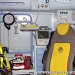 Реанимобиль класс C Volkswagen Crafter Сикар на выставке Здравоохранение 2013 оборудование
