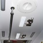 Автомобиль скорой медицинской помощи класс B Renault Master СТ Нижегородец на выставке Здравоохранение 2013 потолок