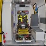 Автомобиль скорой медицинской помощи класс B Renault Master СТ Нижегородец на выставке Здравоохранение 2013 салон