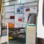 Автомобиль скорой медицинской помощи класс B IVECO Daily CNG СТ Нижегородец на выставке Здравоохранение 2013 вход