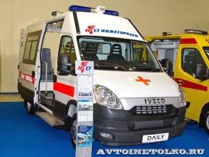 IVECO Daily CNG скорая помощь СТ Нижегородец на выставке Здравоохранение 2013