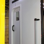 Модульный реанимобиль Ford Transit СТ Нижегородец на выставке Здравоохранение 2013 перегородка
