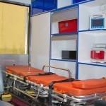 Модульный реанимобиль Ford Transit СТ Нижегородец на выставке Здравоохранение 2013 носилки