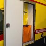 Модульный реанимобиль Ford Transit СТ Нижегородец на выставке Здравоохранение 2013 багажник