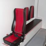 Модульный реанимобиль FIAT Ducato СТ Нижегородец на выставке Здравоохранение 2013 сиденья