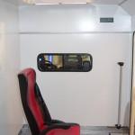 Модульный реанимобиль FIAT Ducato СТ Нижегородец на выставке Здравоохранение 2013 перегородка