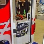 Модульный реанимобиль Volkswagen Amarok NEGEA Tamlans на выставке Здравоохранение 2013 техотсек