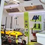 Реанимобиль класс C Peugeot Boxer НиАЗ на выставке Здравоохранение 2013 вход