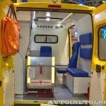 Автомобиль скорой медицинской помощи класс B FIAT Ducato Луидор на выставке Здравоохранение 2013 салон