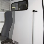 Автомобиль скорой медицинской помощи класс B Mercedes-Benz Sprinter СТ Нижегородец на выставке Здравоохранение 2013 перегородка