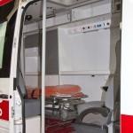 Автомобиль скорой медицинской помощи класс B Mercedes-Benz Sprinter СТ Нижегородец на выставке Здравоохранение 2013 салон