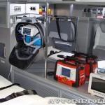 Модульный реанимобиль ГАЗель NEXT Промышленные Технологии на выставке Здравоохранение 2013 оснащение