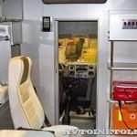 Модульный реанимобиль ГАЗель NEXT Промышленные Технологии на выставке Здравоохранение 2013 перегородка
