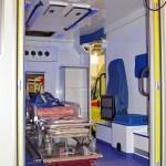 Модульный реанимобиль Ford Transit ООО Автодом на выставке Здравоохранение 2013 салон
