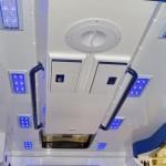 Модульный реанимобиль Ford Transit ООО Автодом на выставке Здравоохранение 2013 потолок