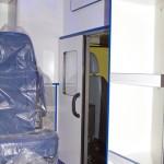 Модульный реанимобиль Ford Transit ООО Автодом на выставке Здравоохранение 2013 перегородка