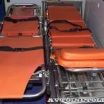 Автомобиль скорой медицинской помощи класс B Peugeot Boxer ООО Автодом на выставке Здравоохранение 2013 носилки