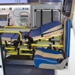 Автомобиль скорой медицинской помощи класс А Citroen Jumpy Промышленные Технологии на выставке Здравоохранение 2013 боковая дверь