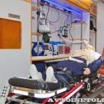 Модульный реанимобиль Volkswagen Crafter Промышленные Технологии на выставке Здравоохранение 2013 салон