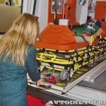 Автомобиль скорой медицинской помощи класс B Ford Transit Промышленные Технологии на выставке Здравоохранение 2013 носилки