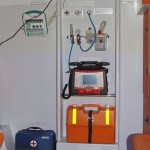 Автомобиль скорой медицинской помощи класс B Ford Transit Промышленные Технологии на выставке Здравоохранение 2013 блок розеток
