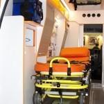 Автомобиль скорой медицинской помощи класс B Соболь 4х4 дизель Промышленные Технологии на выставке Здравоохранение 2013 салон слева