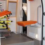 Автомобиль скорой медицинской помощи класс B Соболь 4х4 дизель Промышленные Технологии на выставке Здравоохранение 2013 перегородка