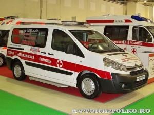 Автомобиль скорой медицинской помощи класс А Citroen Jumpy Промышленные Технологии на выставке Здравоохранение 2013
