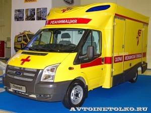 Модульный реанимобиль Ford Transit СТ Нижегородец на выставке Здравоохранение 2013
