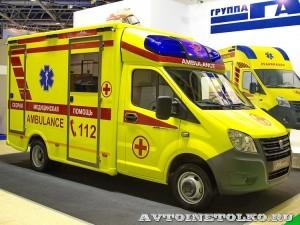 Модульный реанимобиль ГАЗель NEXT Промышленные Технологии на выставке Здравоохранение 2013