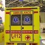 Модульный реанимобиль ГАЗель NEXT Промышленные Технологии на выставке Здравоохранение 2013 сзади