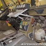 Вездеход Pinzgauer 6x6 на выставке Здравоохранение 2013 кабина