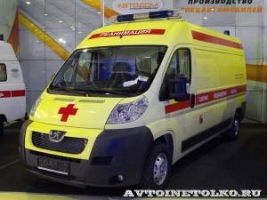 Автомобиль скорой медицинской помощи класс B Peugeot Boxer ООО Автодом на выставке Здравоохранение 2013