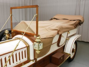 Фаэтон Austin Model 60 1909 года чехол кузова