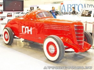 Спортивный автомобиль ГАЗ ГЛ1 на 21 Олдтаймер-Галерее Ильи Сорокина