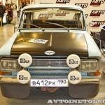 Раллийный автомобиль Москвич 412 на 21 Олдтаймер-Галерее Ильи Сорокина спереди