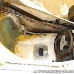 Спортивный автомобиль АМ 01М на 21 Олдтаймер-Галерее Ильи Сорокина кокпит
