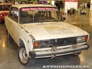 Спортивный автомобиль ВАЗ 2105 Вихур на 21 Олдтаймер-Галерее Ильи Сорокина