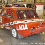 Спортивный автомобиль ВАЗ 21011 на 21 Олдтаймер-Галерее Ильи Сорокина сзади слева