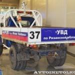 Кроссовый грузовик ГАЗ 51 на 21 Олдтаймер-Галерее Ильи Сорокина сзади
